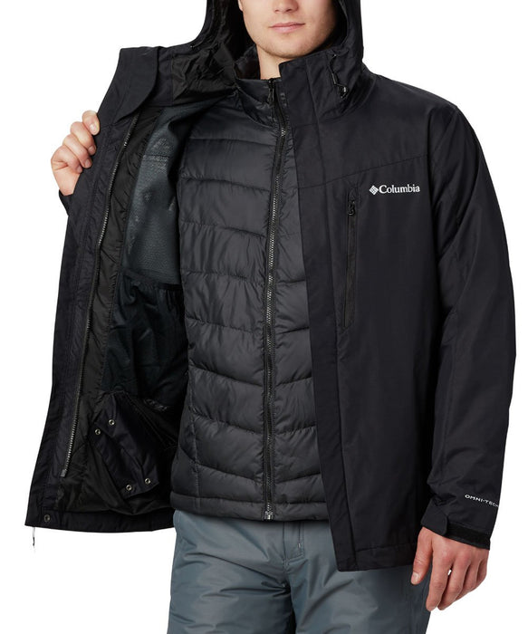Columbia Men's Whirlibird IV Insulated Interchange Jacket - Black