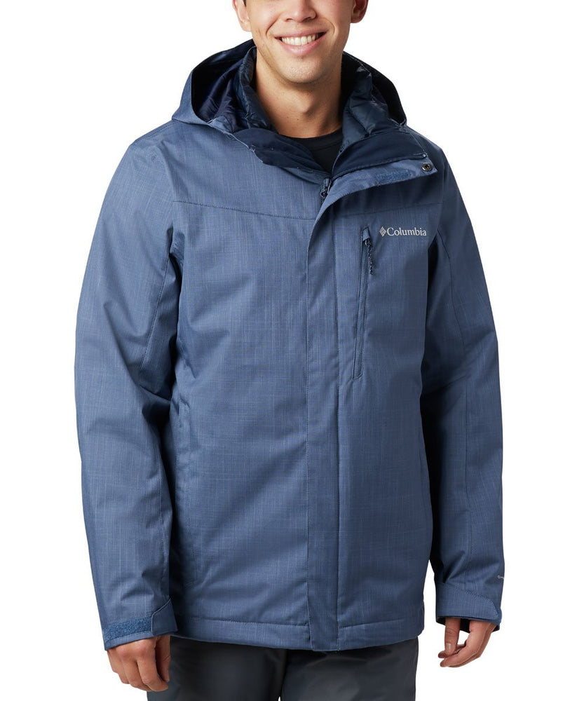 Columbia Men's Whirlibird IV Insulated Interchange Jacket - Dark Mountain Melange