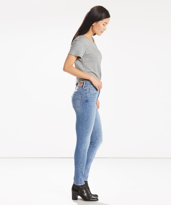 Levi's Women's 721 High Rise Skinny Jeans in Sea Gaze at Dave's New York