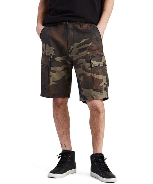 Levi Men's Carrier Cargo Shorts – Dark Woodland Camo