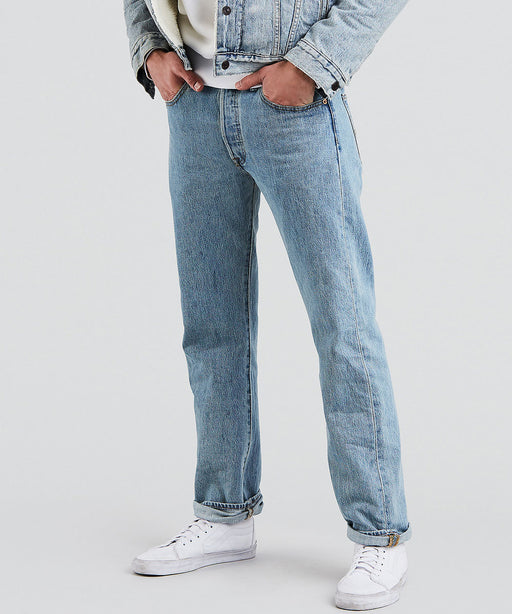 Levi's 501 Original Fit Jeans in Light Stonewash at Dave's New York