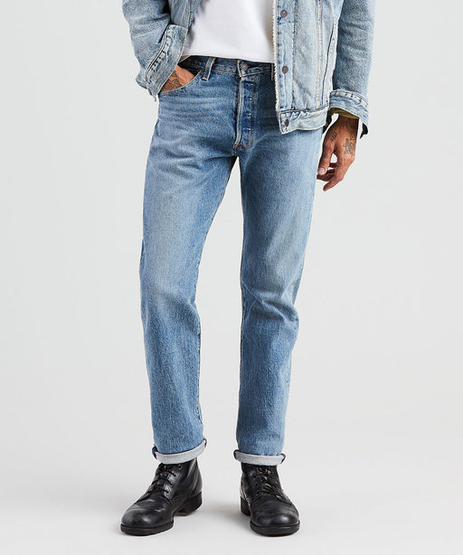 Levi's Men's 501 Original Fit Jeans in The Ben at Dave's New York