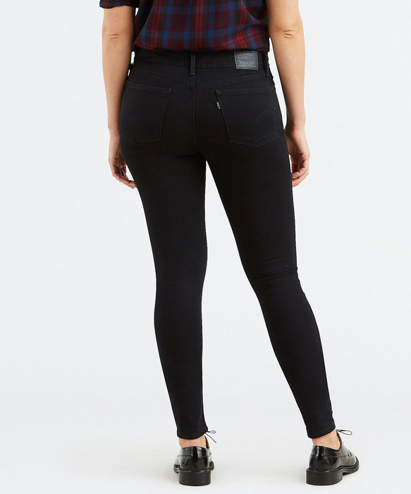 Levi 710 Super Skinny Jeans - Secluded Echo Black