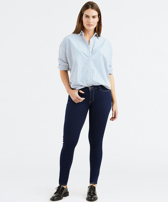 Levi's Women's 710 Super Skinny Jeans in Dusk Rinse at Dave's New York