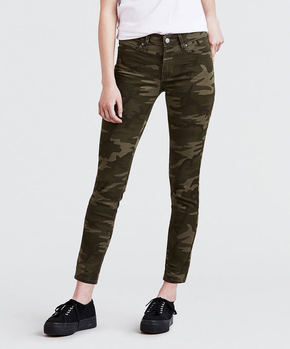 Levi 711 Ankle Skinny Jeans - Soft Camo