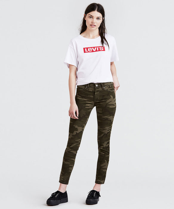 Levi's Women's 711 Ankle Skinny Jeans in Soft Camo at Dave's New York