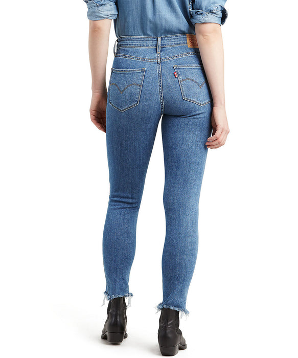 Levi's Women's 721 High Rise Skinny Ankle Jeans in Culture Corner at Dave's New York