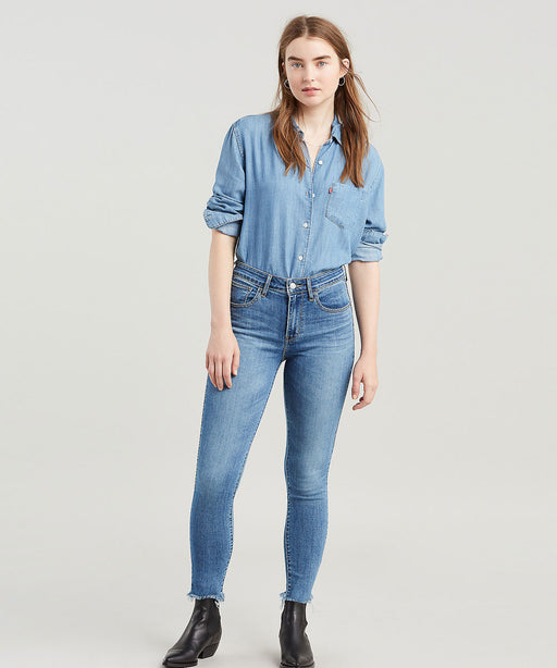 Levi's Women's 721 High Rise Skinny Ankle Jeans - Culture Corner