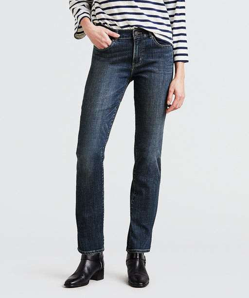 Levi Women Classic Straight Jeans - Seattle Blues