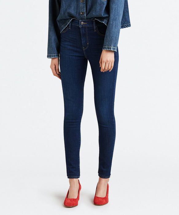 Levi's Women's 720 High Rise Super Skinny Jeans in Indigo Daze at Dave's New York