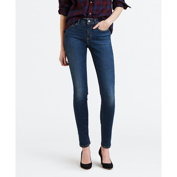 Levi Misses Mid Rise Skinny Fit Jeans - West Coast Dream