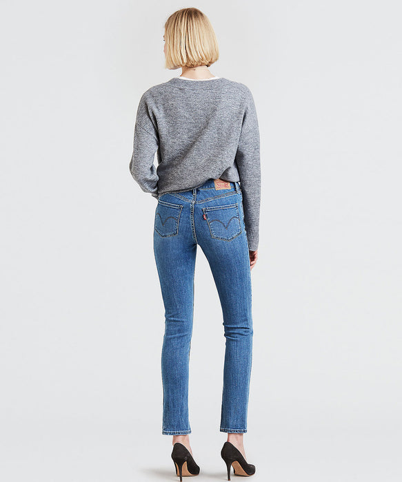 Levi's Women's Mid-Rise Skinny Jeans - Meteor Wave