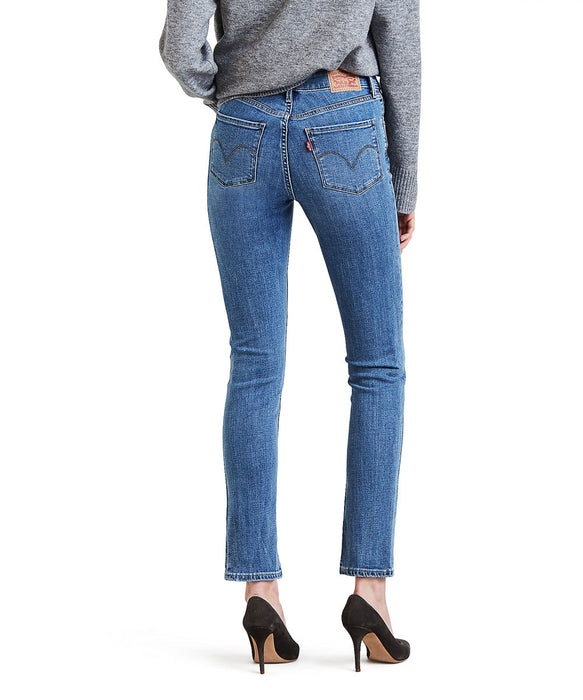 Levi's Women's Mid-Rise Skinny Jeans in Meteor Wave at Dave's New York