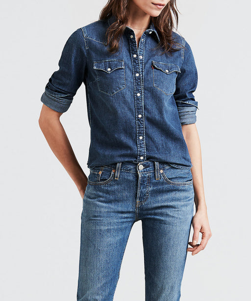 Levi's Ladies Ultimate Western Denim Shirt - Lotta Love