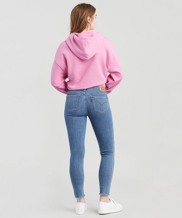 Levi's Women's  711 Ankle Skinny Jeans in All or Nothing at Dave's New York