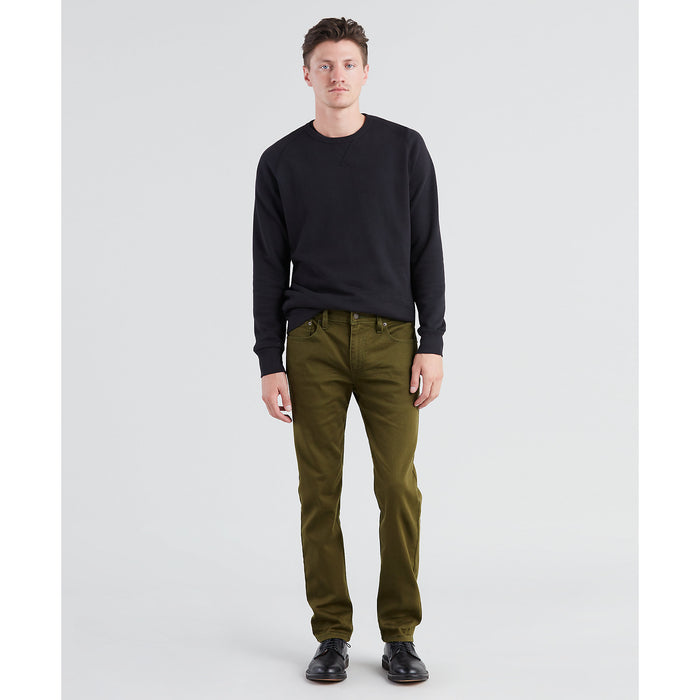 Levi 502 Regular Fit Tapered Leg Jeans - Foragers Green