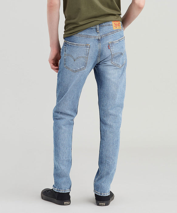 Levi 502 Regular Fit Tapered Leg Jeans – Super Bass Light