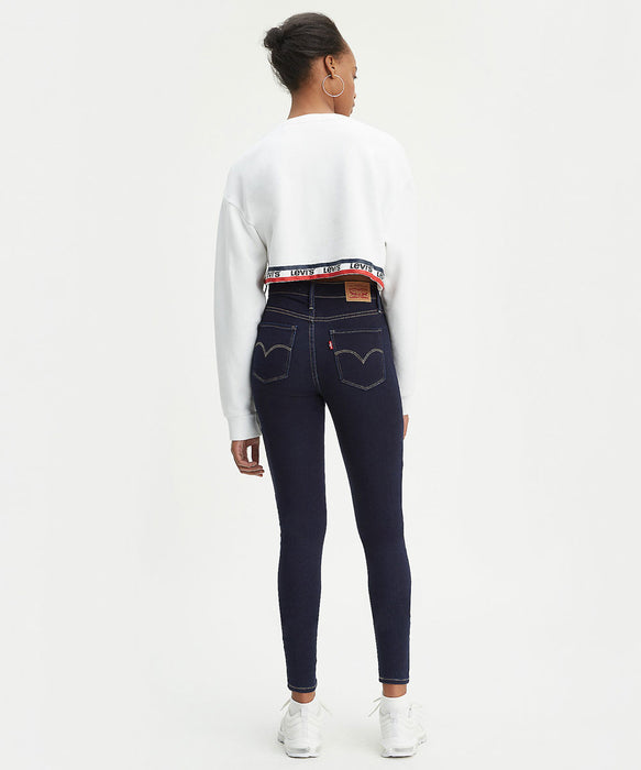 Levi's Women's 720 High Rise Super Skinny Jeans in Indigo Atlas at Dave's New York
