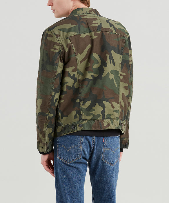 Levi Men's The Trucker Jacket - Phalarope Camo