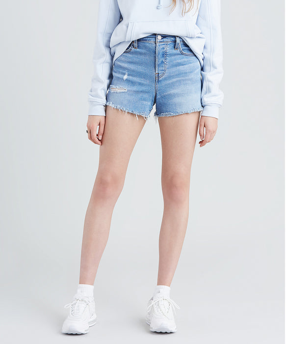 Levi Women's High Rise Denim Shorts - Big City Lights