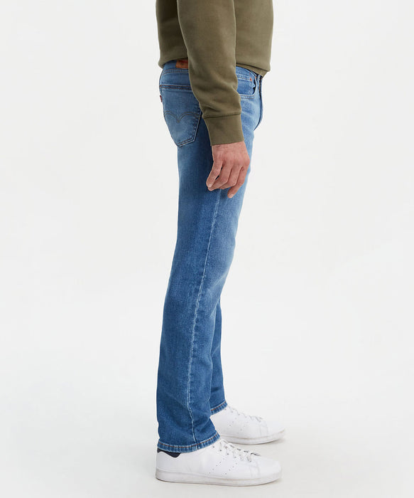 Levi's Men's 505 Regular Fit  Jeans in Begonia Overt ADV at Dave's New York