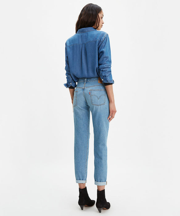 Levi's Women's 501 Taper Fit Jeans in Sansome Light at Dave's New York