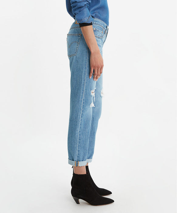 Levi's Women's 501 Taper Fit Jeans - Sansome Light