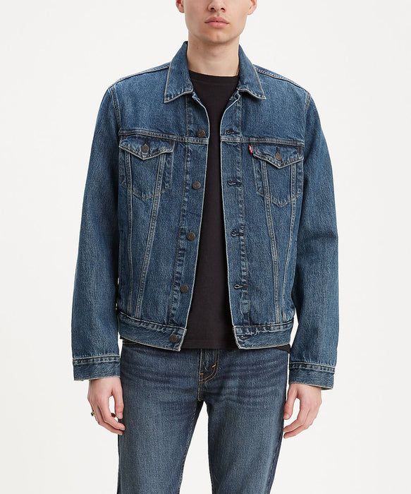 Levi's Men's Trucker Jacket in Fort Mason at Dave's New York