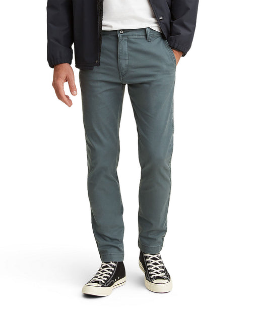 Levi Men's XX Chino Standard Taper Fit Pants in Dark Slate Grey at Dave's New York