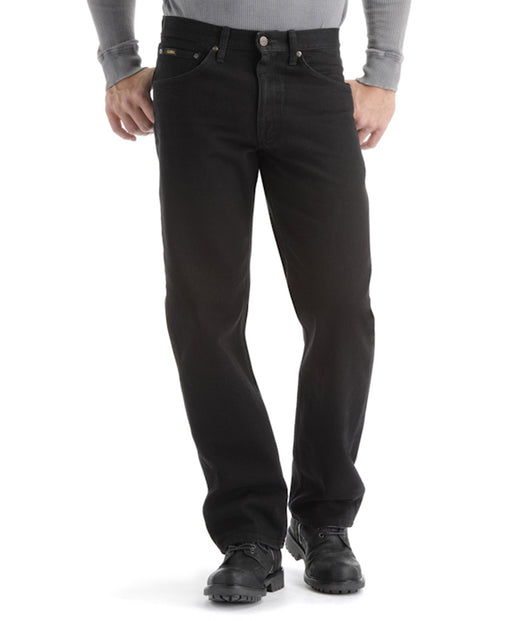 Lee Men's Regular Fit Straight Leg Jeans - Black