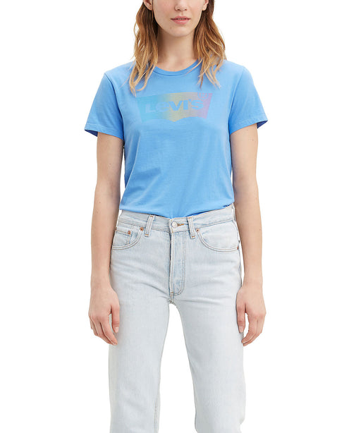Levi's Women's The Perfect Tee in Marina Blue at Dave's New York
