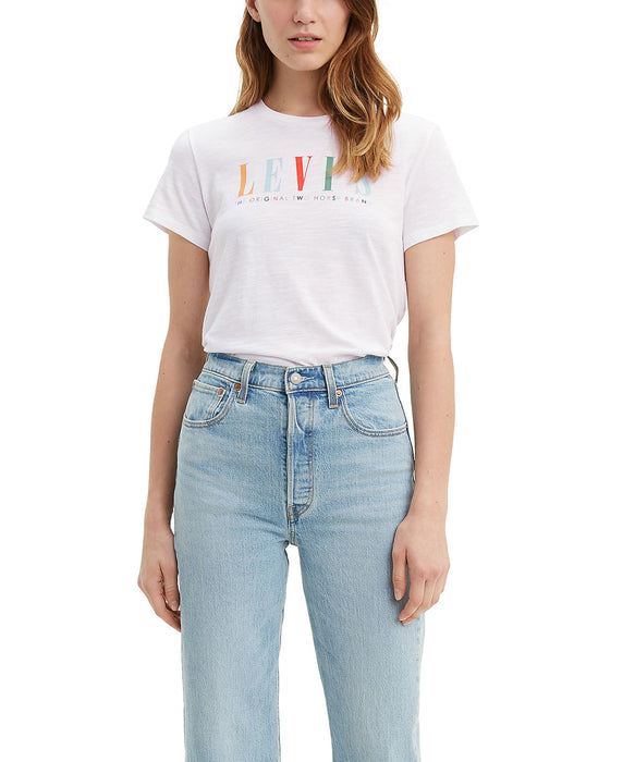 Levi's Women's The Perfect Tee in White at Dave's New York