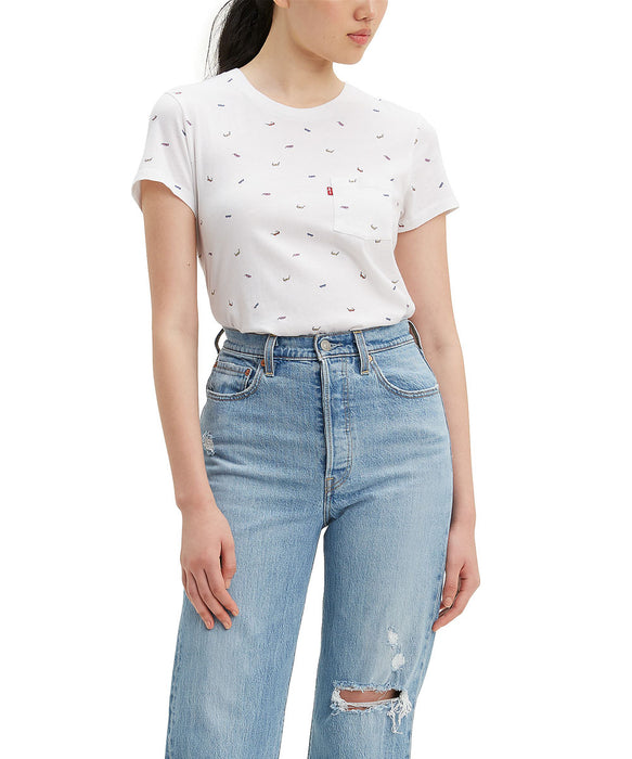 Levi's Women's The Perfect Pocket Tee in Bigger Sunglasses Multi at Dave's New York