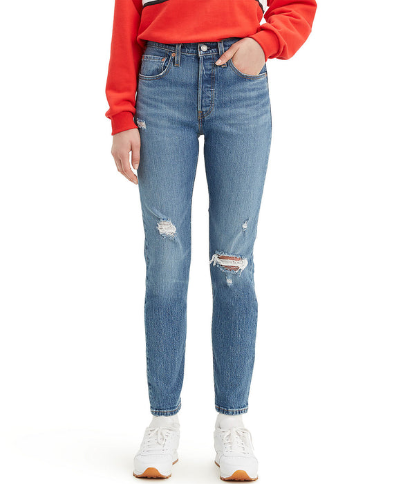 Levi's Women's 501 Skinny Jeans in Jive Tribe at Dave's New York
