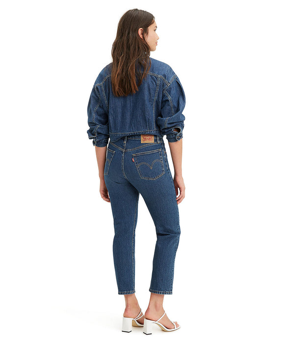 Levi's Women's 501 Crop Jeans in Charleston High at Dave's New York