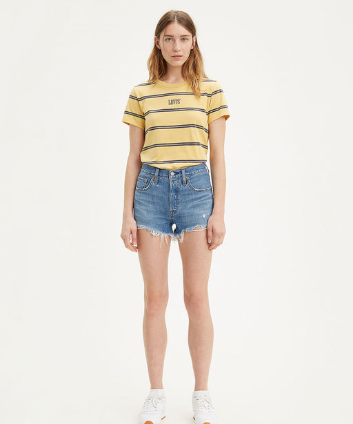 Levi's Women's 501 High Rise Shorts - Sansome Breeze