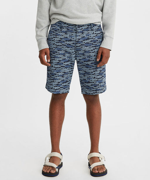 Levi's Men's XX Chino Standard Taper Fit Shorts - Stamp Fish Colony Blue at Dave's New York