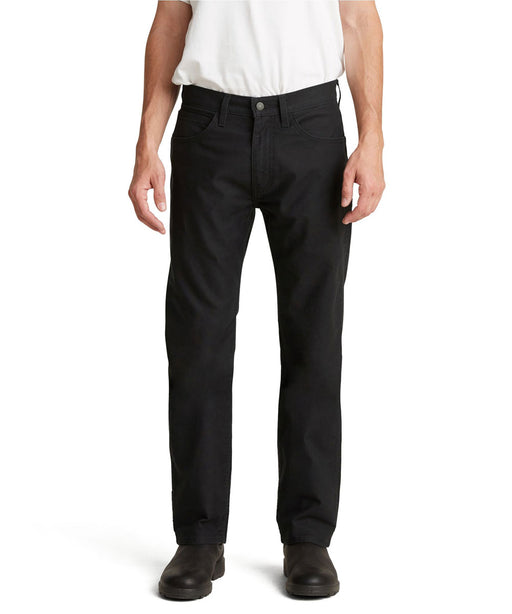 Levi's Men's Workwear Fit Canvas 5-pocket pants - Black at Dave's New York