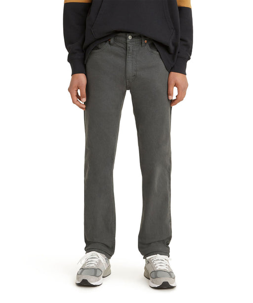 Levi's Men's 505 Regular Fit Jeans - Iron Ore Garment Dye at Dave's New York