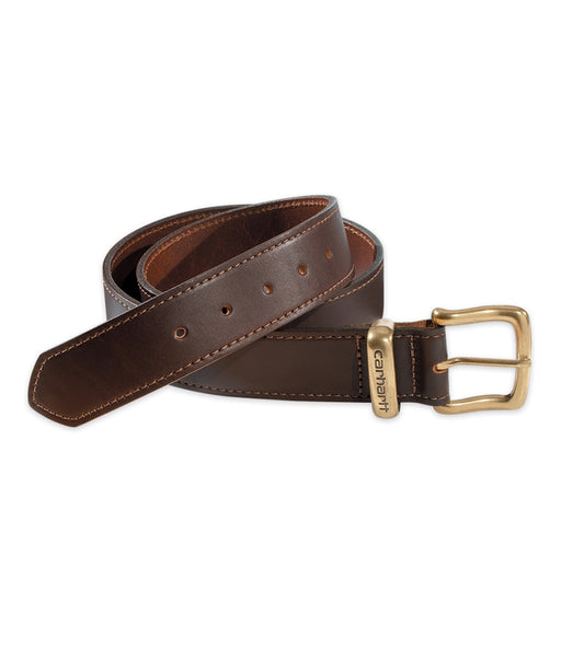 Carhartt Leather Jean Belt in Brown at Dave's New York
