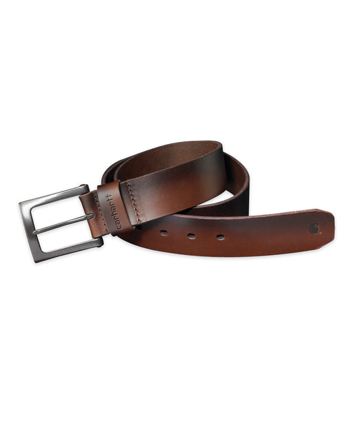 Carhartt Anvil Leather Belt in Brown at Dave's New York