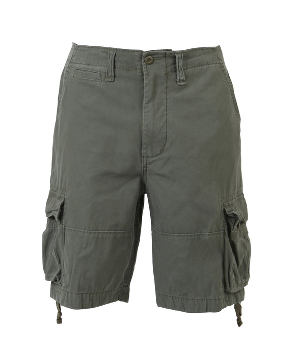 Rothco Army Style Vintage Infantry Utility Shorts – Olive Drab