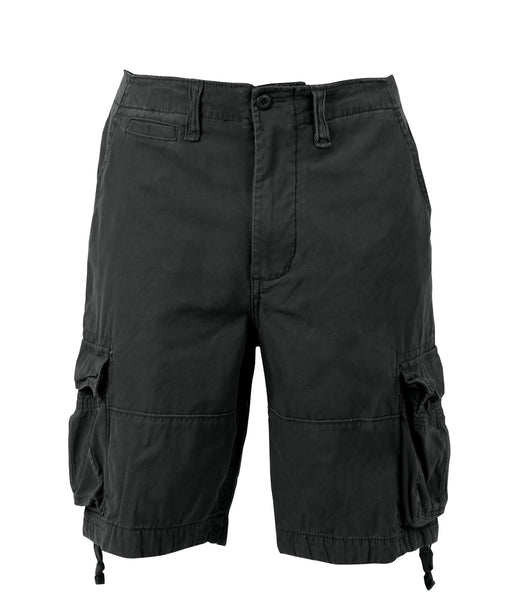 Rothco Army Style Vintage Infantry Utility Shorts – Black
