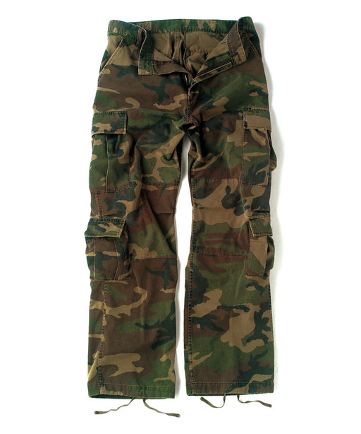 Rothco Vintage Paratrooper Fatigue Pants – Woodland Camo