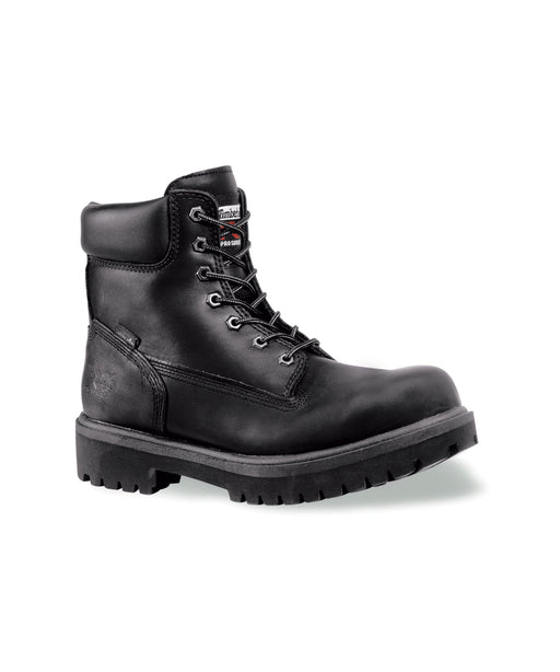 Timberland PRO® Men's Direct Attach Steel Toe Work Boots in Black at Dave's New York