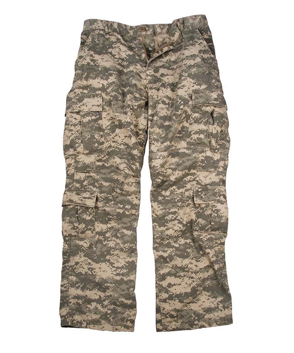 Rothco Vintage Paratrooper Fatigue Pants in ACU Digital Camo at Dave's New York