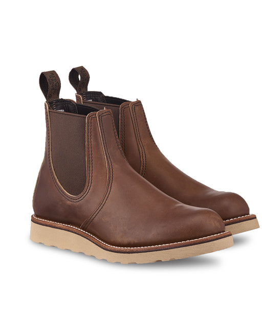 Red Wing Shoes Heritage Classic Chelsea Boot - Amber Harness at Dave's New York