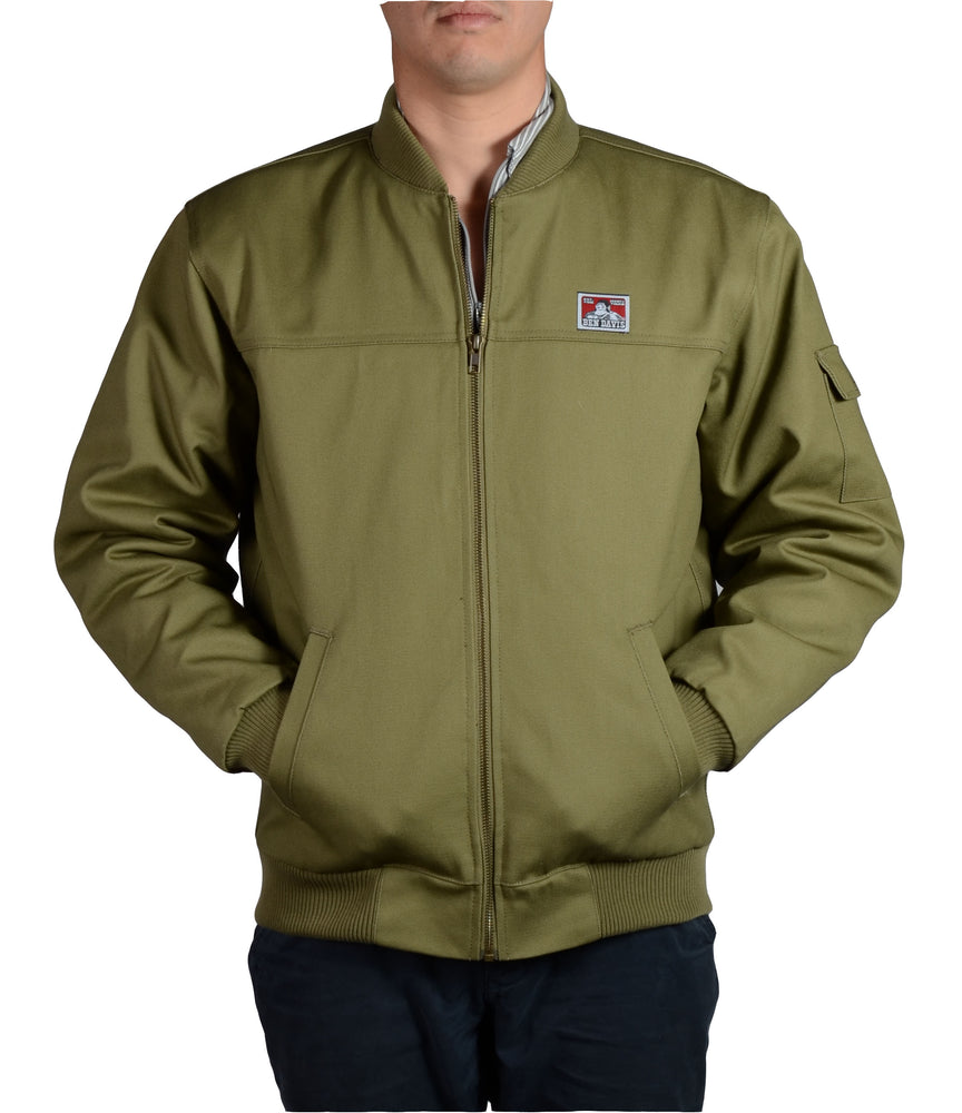 Ben Davis Bomber Jacket - Army Green