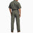Dickies Men's Short Sleeve Coverall in Grey at Dave's New York