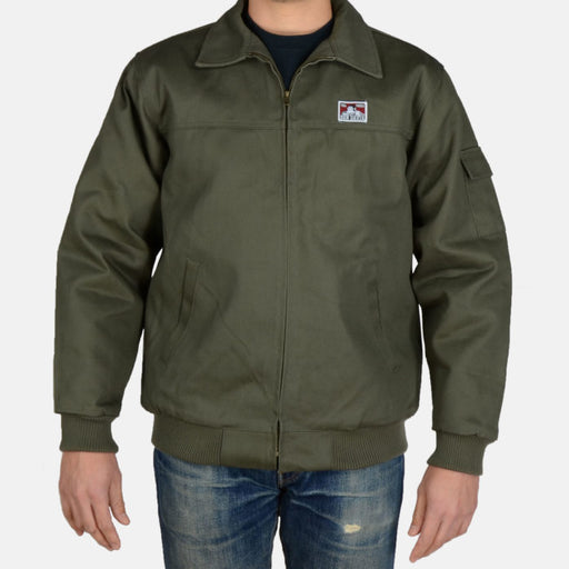Ben Davis Mechanics Jacket - Olive at Dave's New York